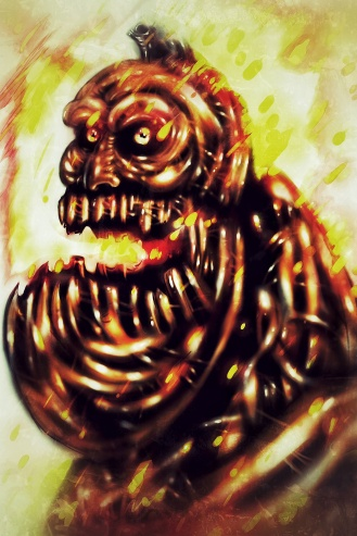 A god of Halloween: The Autumn god that is said, by some, to live in the September Woods located near Autumn City.